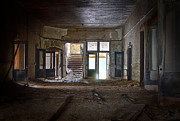 Abandoned School Prints - Clark School 24 Print by Scott Hovind
