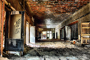 Abandoned School Prints - Clark School 26 Print by Scott Hovind