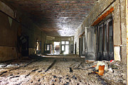 Abandoned School Prints - Clark School 28 Print by Scott Hovind