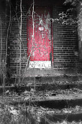 Abandoned School Prints - Clark School 9 Print by Scott Hovind