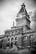 Clarksville Framed Prints - Clarksville Court House Framed Print by Paul Bartoszek