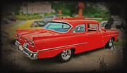 Paint Photograph Prints - Classic 1950s Car Print by Perry Webster