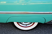 White Walls Framed Prints - Classic 55 Merc Framed Print by David Lee Thompson
