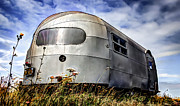 Bullet Framed Prints - Classic Airstream caravan Framed Print by Ian Hufton