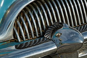 Del Rio Photo Posters - Classic American car bumper Poster by Sami Sarkis
