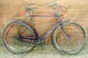 Velo Prints - Classic Bikes Print by Denis Bouchard