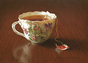 Still Life Pastels Prints - Classic Blend Print by Barbara Groff
