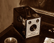 Film Camera Photo Prints - Classic Camera Print by David Lee Thompson