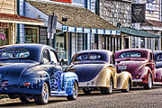 Carol Leigh Framed Prints - Classic Car Show Framed Print by Carol Leigh