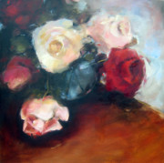Rose Paintings - Classic Collection by Sharleen Boaden