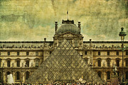 Louvre Museum Framed Prints - Classic Contradiction Framed Print by Andrew Paranavitana