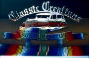Car-club Posters - Classic Creations Poster by Gwyn Newcombe