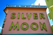 Classic Drive Inn Movie Marquee Print by David Lee Thompson
