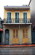 French Quarter Metal Prints - Classic French Quarter Residence New Orleans Metal Print by Shawn OBrien