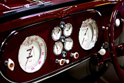 Classic Gauges Print by Jason Abando