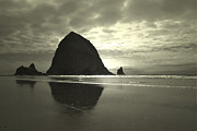 Oregon Photos Framed Prints - Classic Haystack Framed Print by Andrea Hazel Ihlefeld