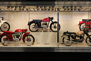 Bicycle Photos - Classic Italian Motorcycles . 1955 Moto Demm 125 cc Sport . 5D16974 by Wingsdomain Art and Photography