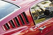 Antic Car Prints - Classic Mustang Fastback Print by David Lee Thompson