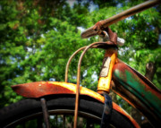 Bicycle Photos - Classic Old Bicycle by Perry Webster