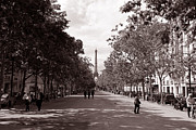 Vintage Paris Metal Prints - Classic Paris 10 Metal Print by Andrew Fare