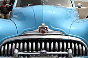 Classic Hot Rods Prints - Classic Super Eight Grille 7d15155 Print by Wingsdomain Art and Photography
