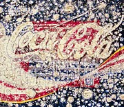 Coca Cola Painting Framed Prints - Classic Framed Print by Todd Monaghan