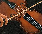 Violin Art - Classic Violin by Linda Apple