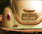Volkswagen Photos - Classic VW Beetle in Thailand by Georgia Fowler