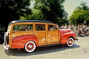 Classic Woody Station Wagon Print by Roger Soule