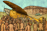 Autogiro Illustration - Classical Planes 1
