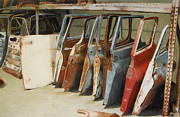 Rust Paintings - Classics by Tessa Broek