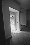 Haunted Schools Photo Prints - Classroom Number 20 Print by Christopher Kulfan