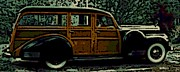 Woodie Car Digital Art - Classy Woodie by George Pedro