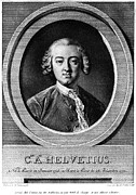 Enlightenment Prints - Claude Adrien Helvetius Print by Granger