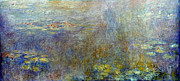 Claude Monet: Waterlilies Print by Granger