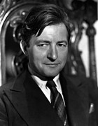 Rains Prints - Claude Rains, 1940s Print by Everett
