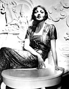 Gold Lame Photos - Claudette Colbert In The Early 1930s by Everett