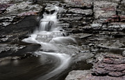 Bisque Ware Art - Clay Falls by Dwayne  Oakes