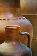 Adobe Metal Prints - Clay pottery Metal Print by Carlos Caetano