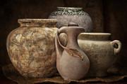 Clay Pottery I Print by Tom Mc Nemar