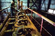 Cleaning Gold Mining Equipment Print by Ria Novosti