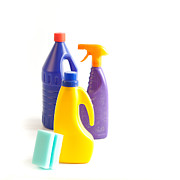Spray Bottle Prints - Cleaning Print by Tom Gowanlock