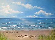 Scripture Pastels Posters - Clear Day  Poster by Joanne Burns