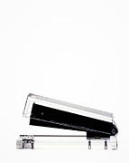 Y120831 Art - Clear Stapler On White With Copy Space by Peter Dazeley