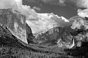 Inspiration Point Framed Prints - Clearing Skies Yosemite Valley Framed Print by Tom and Pat Cory
