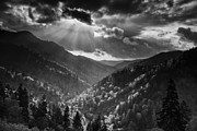 Smokies Prints - Clearing Storm Print by Andrew Soundarajan