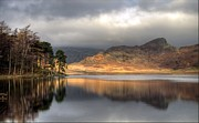 Langdale Prints - Clearing Weather At Blea Tarn Print by Terry Roberts Photography