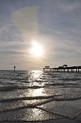 Pier Digital Art - Clearwater Beach at Pier 60 by Bill Cannon