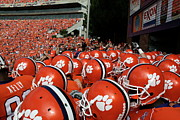 Team Prints - Clemson Tigers Print by Taylor C Jackson