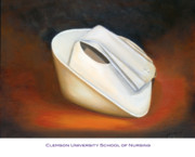 Clemson Art - Clemson University School of Nursing by Marlyn Boyd
